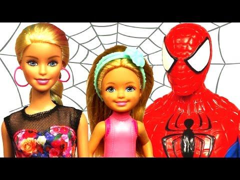 Barbie ve Örümcek Adam Bakıcı...