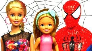 Video Barbie ve Örümcek Adam Bakıcı Macerası - Chelsea Doğum Günü! download MP3, 3GP, MP4, WEBM, AVI, FLV November 2017