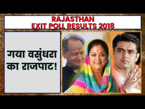 Rajasthan Exit Poll Result 2018  Exit Poll 2018 Rajasthan  Rajasthan Assembly Election 2018
