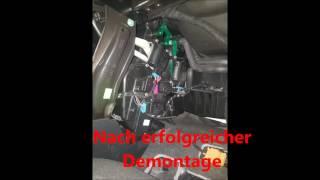 Klimaanlage desinfizieren/reinigen am Audi B6/8E Tutorial