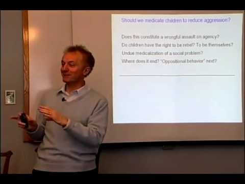 Anti-Social Behaviour - Lecture - Professor Raine