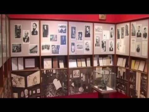 Inside the Sigmund Freud Museum in Vienna, Austria