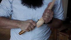 Spooncarving: finishing the spoon, sljd- and spoonknife
