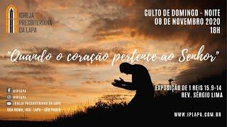 """""""Quando o coração pertence ao SENHOR"""" - 1 Reis 15.9-14 Rev. Sérgio Lima"""