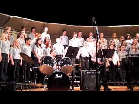 Hayward Middle School Choir sings