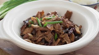 Claypot Pork Belly With Salted Fish - 砂锅咸鱼五花肉