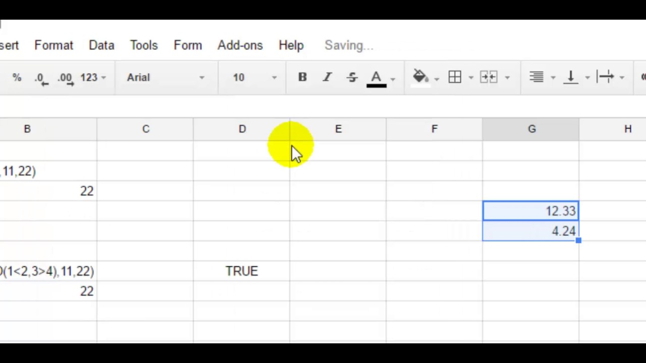 how to round to two decimals in google spreadsheet youtube. Black Bedroom Furniture Sets. Home Design Ideas