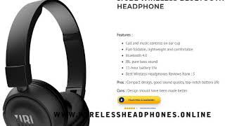 Video Top 10 Best Value for Money Wireless Headphones you can buy right now! download MP3, 3GP, MP4, WEBM, AVI, FLV Juli 2018