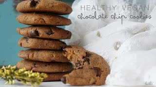 Quick And Easy Healthy Vegan Chocolate Chip Cookies | Fresh Heather