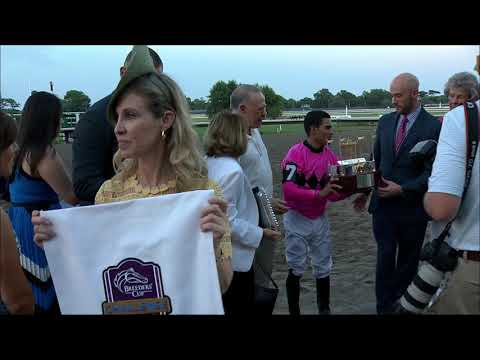 video thumbnail for MONMOUTH PARK 7-20-19 RACE 12 – THE TVG.COM HASKELL INVITATIONAL