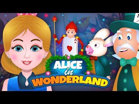 Alice in Wonderland Story in Hindi ऐलिस इन वंडरलैंड | Hindi Fairy Tales For Kids | हिंदी कहानियाँ