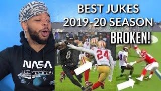 NFL Nastiest Jukes of The 2019-2020 Season   Reaction