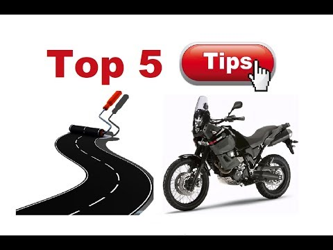 Top 5 Things You Should Know Before You Go On A Motorcycle Trip!