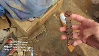 Вращение перекидных деревянных четок