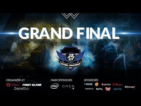 RRQ Endeavour (Jakarta) vs Raftel ID (Jakarta) - Grand Final PBNC 2017