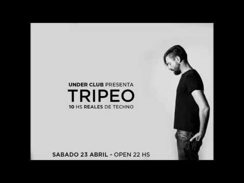 Tripeo (10 Hours set) @ Under Club, Buenos Aires (23 April 2016)
