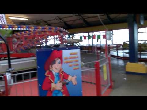 Spooky amusement arcade
