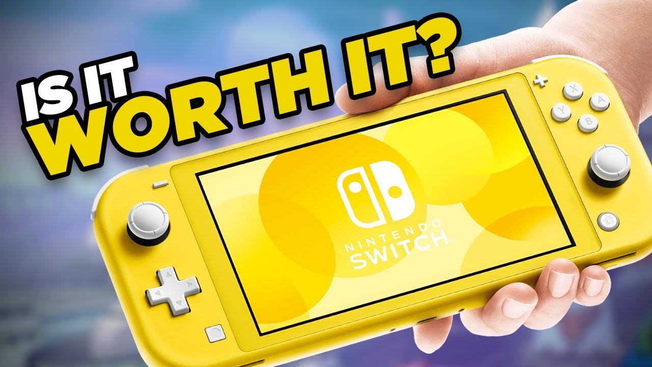 Lohnt sich der Nintendo Switch Lite? + video