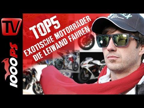 Top 5 - Exotische Motorräder die auch leiwand fahren. Motorrad Gebrauchtkauf Beratung