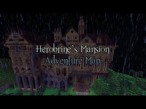 """MINECRAFT - """"Herobrine mansion"""" con town parte 1"""