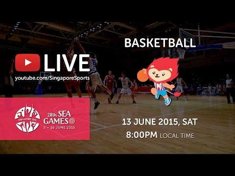 Basketball Women's Malaysia vs Singapore | 28th SEA Games Singapore 2015