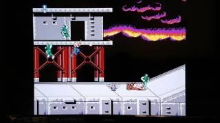 迷你版任天堂紅白機(Nintendo Family Computer Mini )內建遊戲:超級魂斗羅(Super Contra)