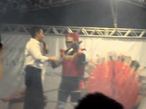 1º Festival do Japão Cuiabá - Cosplay - Jiraya(vencedor)