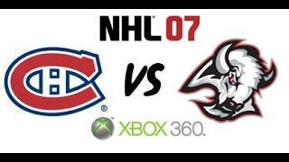 NHL 07 - Montreal Canadiens vs. Buffalo Sabres