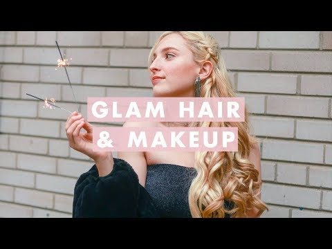 Holiday Glam Hair & Makeup