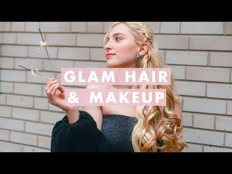 Holiday Glam Hair & Makeup