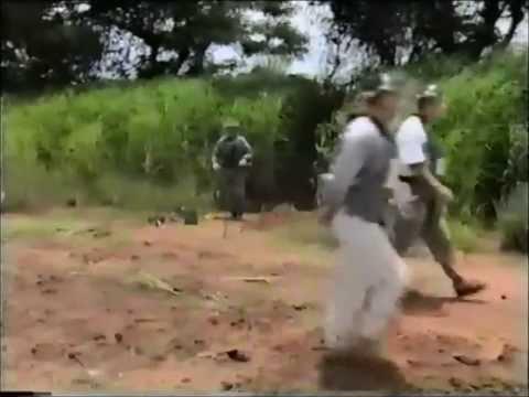 Princess Diana Walks Through Mine Field
