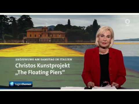 Dagmar Berghoff in den Tagesthemen Kurz Comeback einer FernsehLegende 16.6.2016