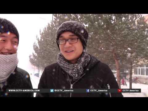 Heavy snow hits large swath of north China