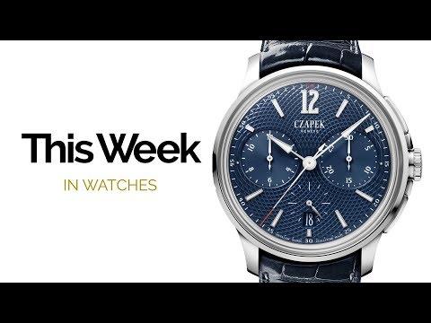 Baselworld 2018 News: Patek Philippe, Czapek, Rolex, Oris & More!