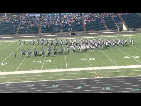 Rusk High School Eagle Band Area Contest 2014