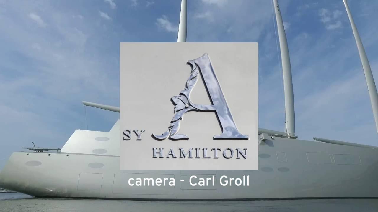 Sailing Yacht A YouTube