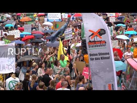 Germany: Thousands March Through Munich For Climate Protest
