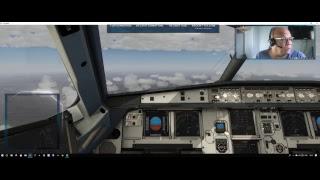 Xplane Dedicated Live Stream Flight factor a320