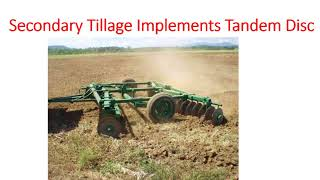 Land Preparation for Sowing, Primary and Secondary Tillage Implements IBPS AFO