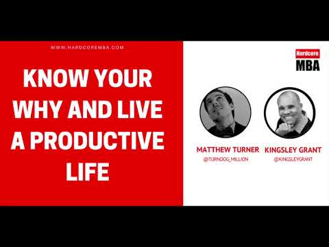 Know your WHY and Live a Productive Life by Kingsley Grant