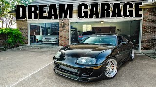 homepage tile video photo for SETTING UP THE DREAM GARAGE V.2!
