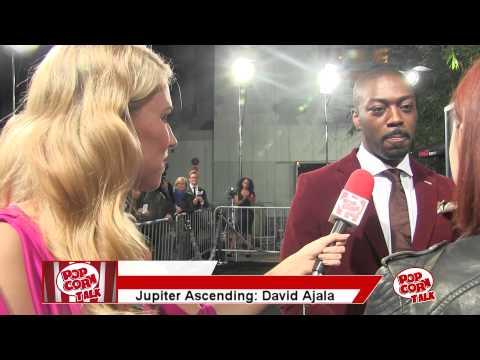 David Ajala @ The Jupiter Ascending Premiere