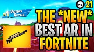 The NEW Infantry Rifle Is The BEST AR In Fortnite... (Fortnite Infantry Rifle - Update 8.40)