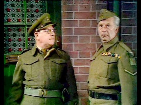 Dad's Army - Absent Friends - NL Ondertiteld - 'we shall be using jujitsu...'