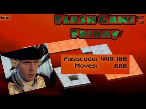 We Moving Blocks Back In 2007 | Bloxorz |: Flash Game Friday #2 (FGF)