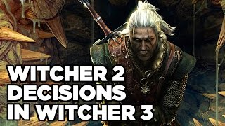 How The Witcher 2's Story Affects The Witcher 3