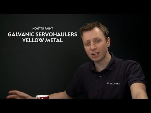 WHTV Tip of the Day - Galvanic Servohaulers Yellow Metal.