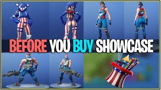 "*NEW* Fortnite: 4th of July Skins ""Before you Buy"" AND LEAKED FIREWORKS EVENT! 