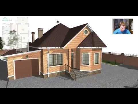 Уютный одноэтажный жилой дом с гаражом  «Майкоп» B-416-ТП