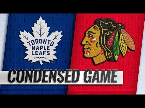 10/07/18 Condensed Game: Maple Leafs @ Blackhawks